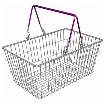 Купить покупательские корзины для супермаркета