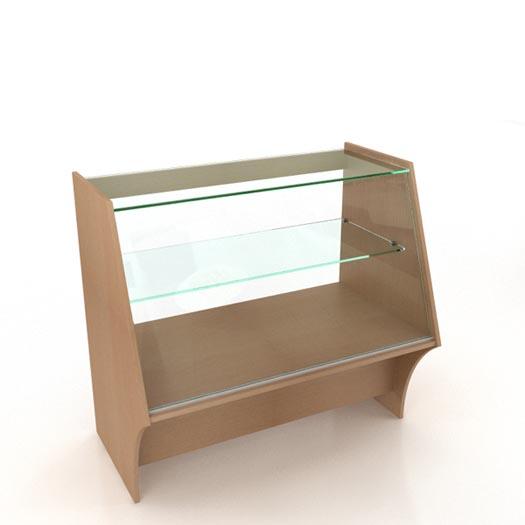 Стеклянный прилавок (1000х625х900)