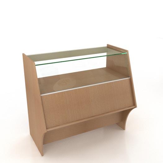 Стеклянный прилавок (1000х625х900) Н