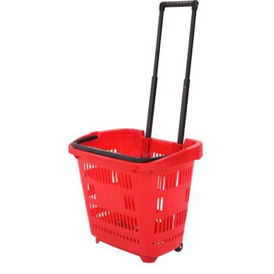 Покупательская корзина 34 л. (пластик)