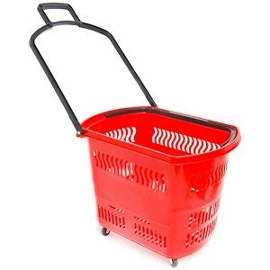 Покупательская корзина 45 л. (пластик)