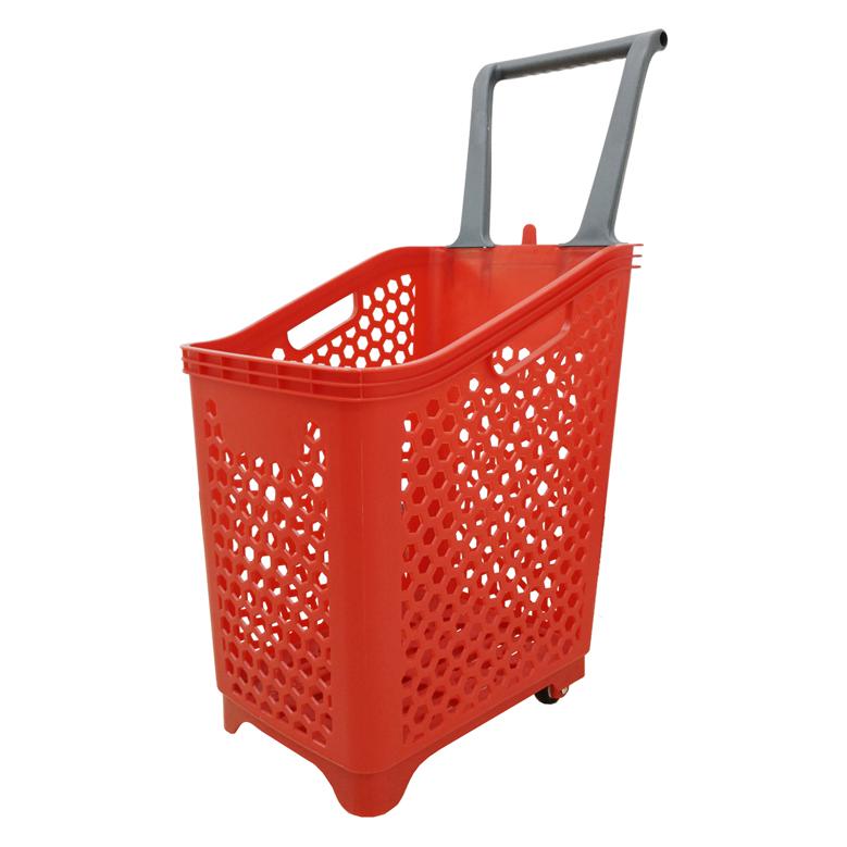 Покупательская корзина 65 л. (пластик)