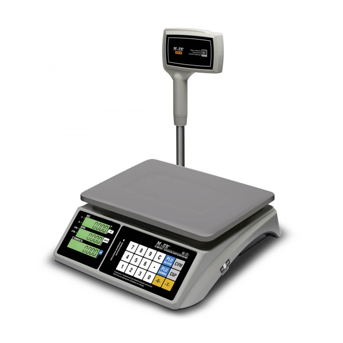 Торговые весы M-ER 328 ACPX LCD RS-232 и USB