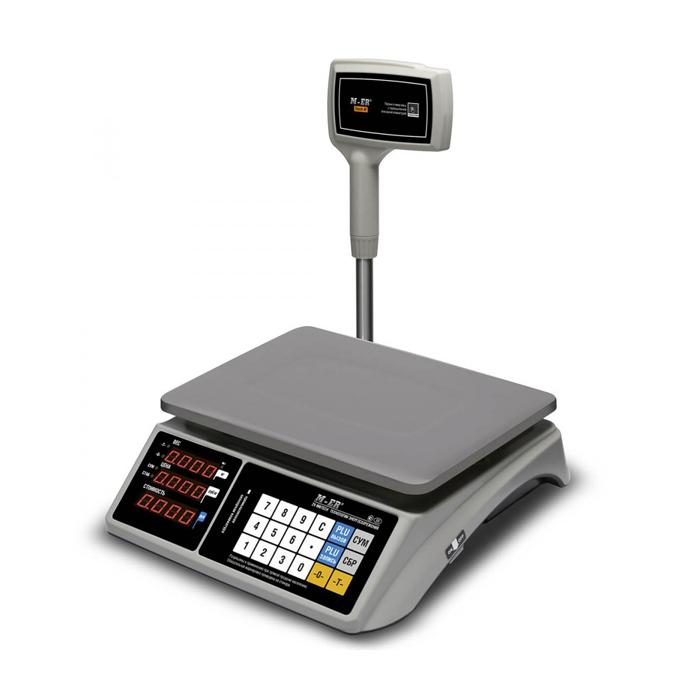 Торговые весы M-ER 328 ACPX LED RS-232 и USB