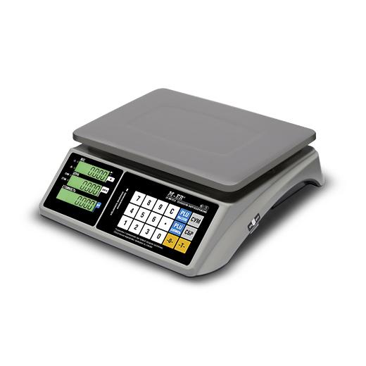 Торговые весы M-ER 328 AC LCD