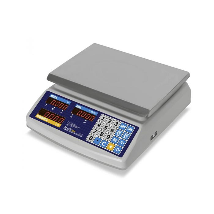 Торговые весы M-ER 329 AC IP68 LED