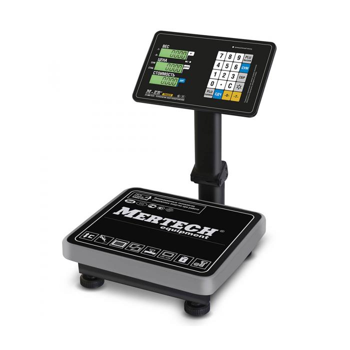 Торговые весы M-ER 333 ACPU-60.20 LCD